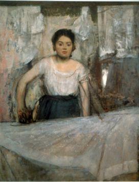 Prasująca kobieta - Edgar Degas - reprodukcja
