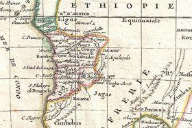 Stara mapa Afryki