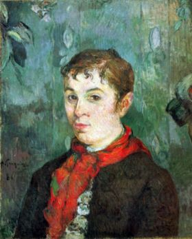 Landlord's Daughter by Gauguin