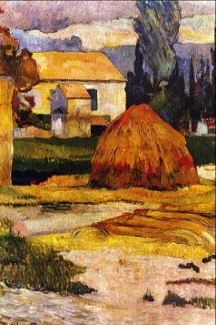 Landscape, Arles by Gauguin