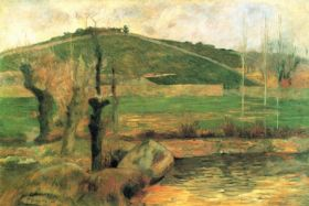 Look at Sainte Margueritte near Pont-Avon by Gauguin