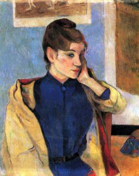 Madeleine Bernard by Gauguin