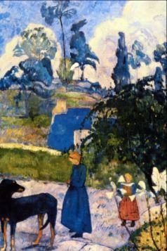 Passage de Bretagne by Gauguin