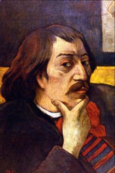 Self Portrait by Gauguin