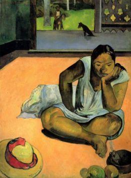 Te Faaturama by Gauguin