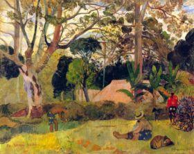 Te Raai Rahi by Gauguin