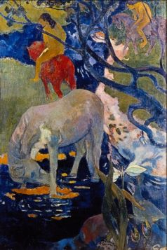 The White Horse by Gauguin