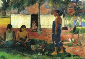 Why are you Angry by Gauguin