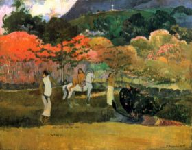 Women and Mold by Gauguin