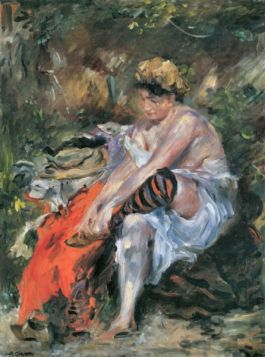 After the Bath by Lovis Corinth