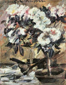 Azaleas by Lovis Corinth