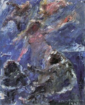 Birth of Venus by Lovis Corinth