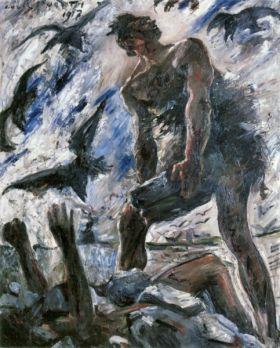 Cain by Lovis Corinth