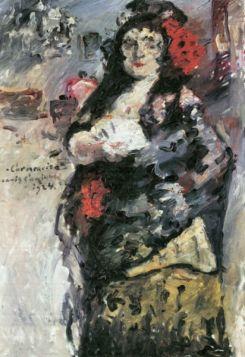 Carmencita by Lovis Corinth