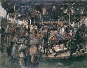 Carousel by Lovis Corinth