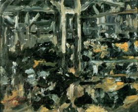 Cow Stable by Lovis Corinth