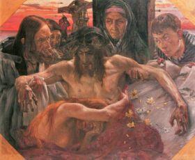 Crucify by Lovis Corinth