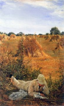 94 degrees in the shade by Alma-Tadema