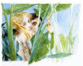 A beautiful flowe by Alma-Tadema